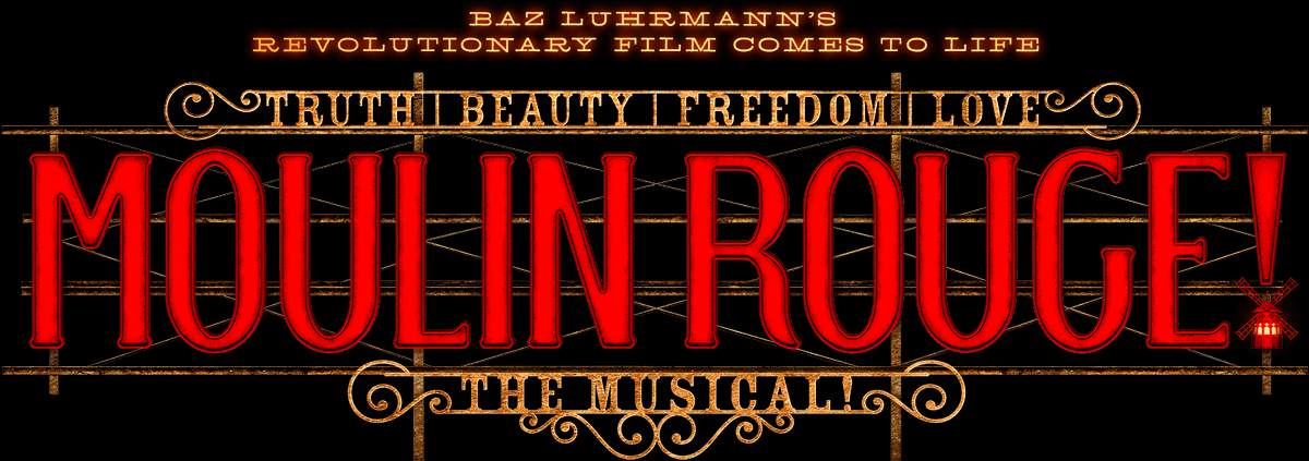 Moulin Rouge australia horizontal logo