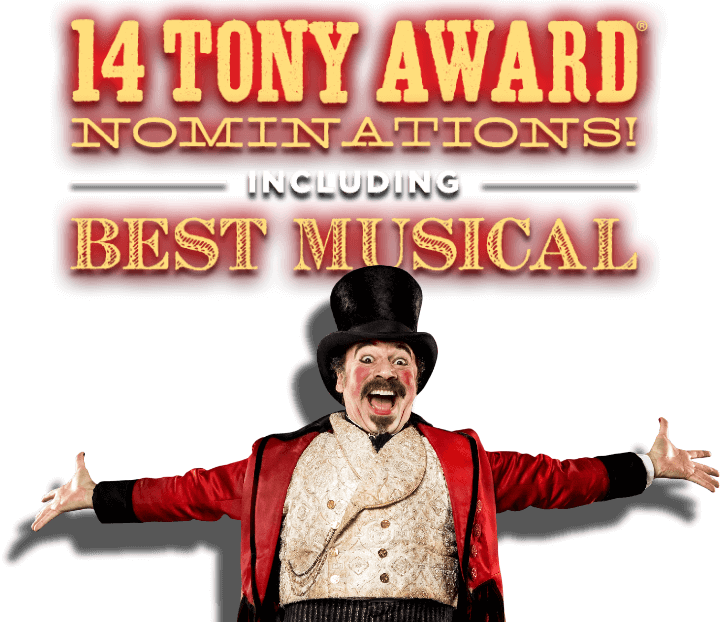 14 Tony Award Nominations! including Best Musical