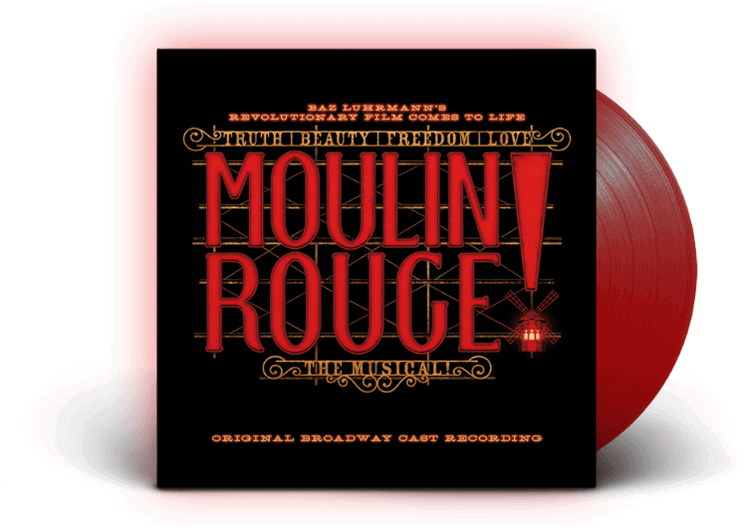 Moulin Rouge! vinyl record cover