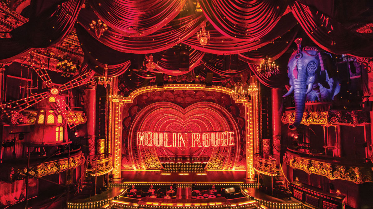 Moulin Rouge! stage