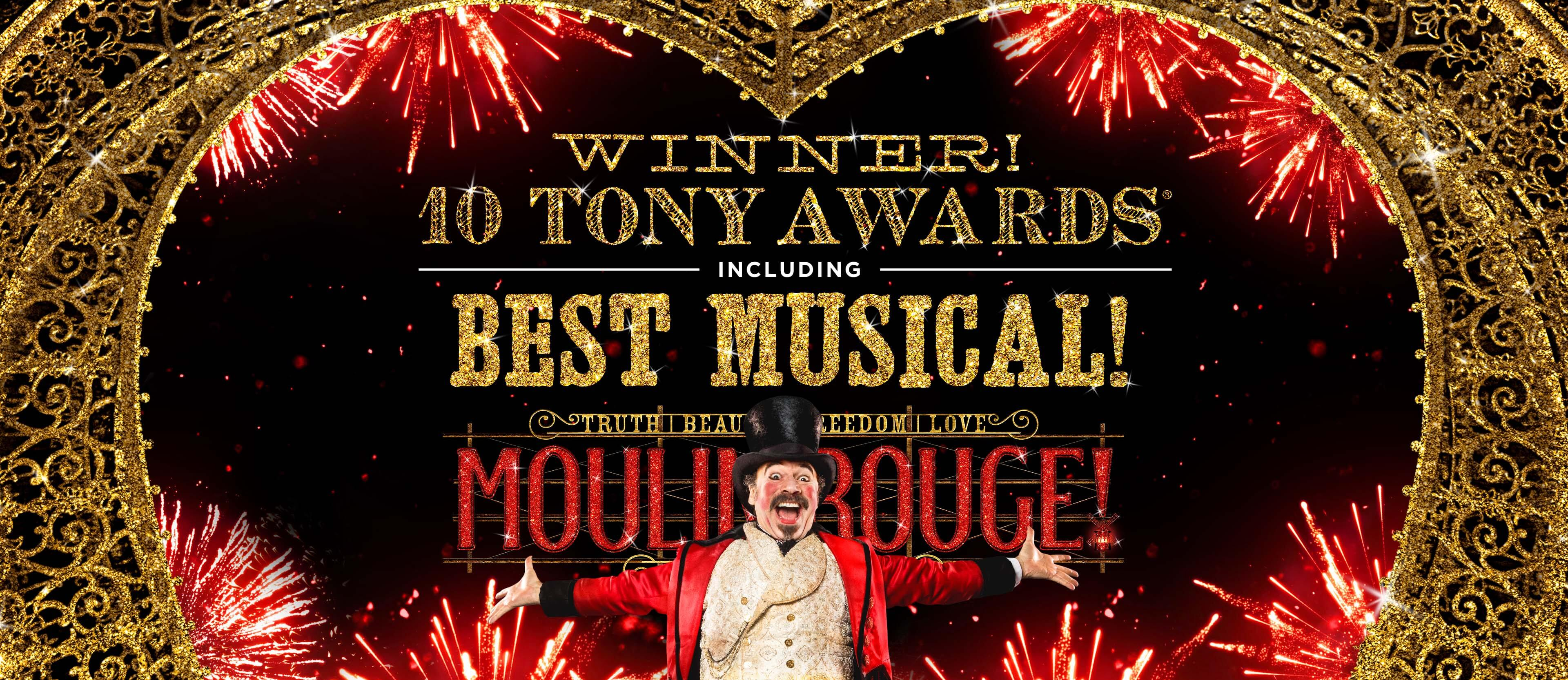 Moulin Rouge The Musical 14 Tony Award Nominations!